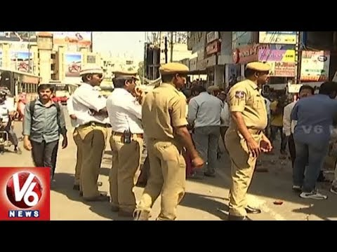 Encroachments Demolition Continues In 3rd Day In Hyderabad City | V6 News