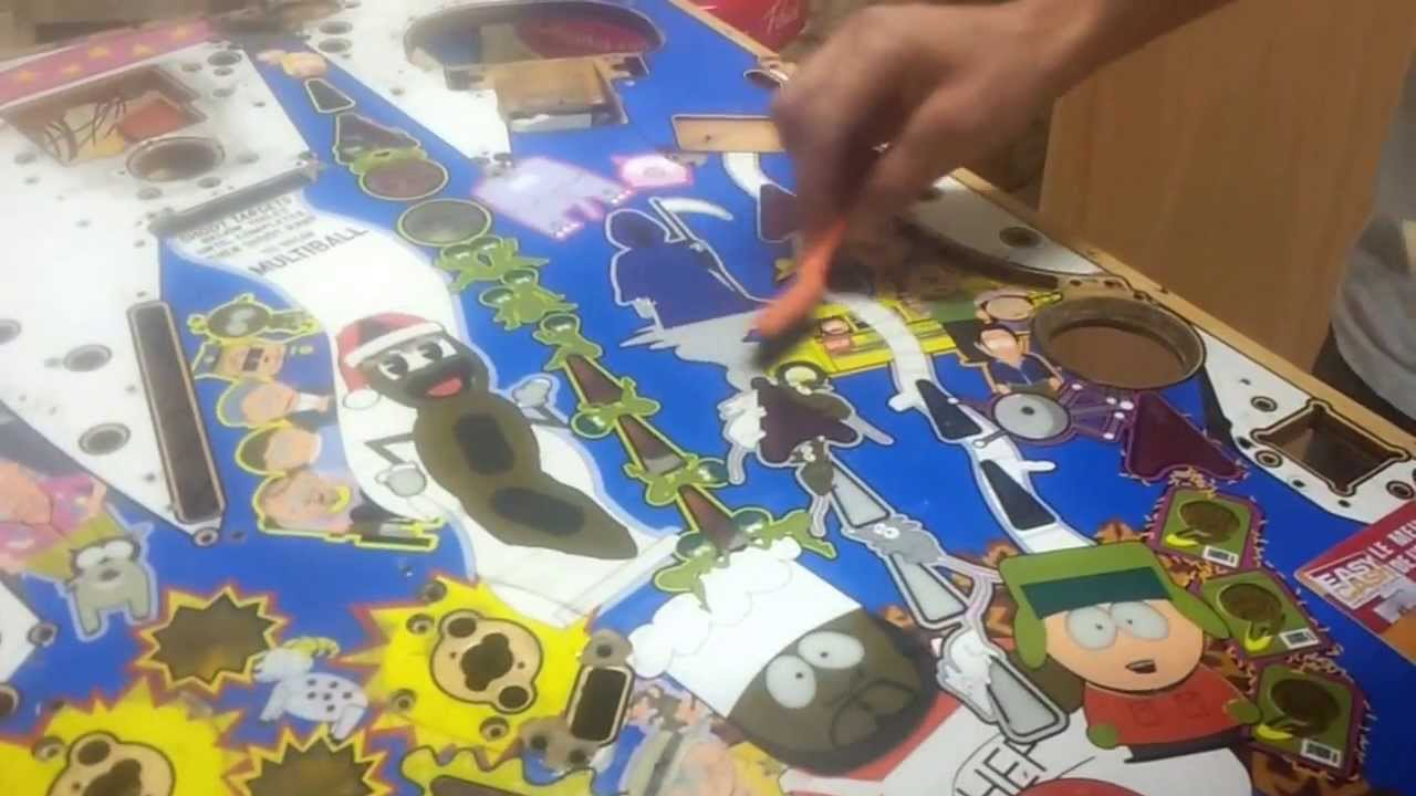 Comment enlever la colle sur un plateau de flipper youtube - Comment enlever de la colle glue ...
