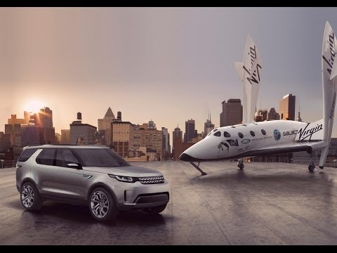 Virgin Galactic Space Ship Unveiled Alongside Land Rover Discovery Vision Concept