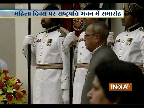 President Pranab Mukherjee Greets Nation on Eve of International Women's Day