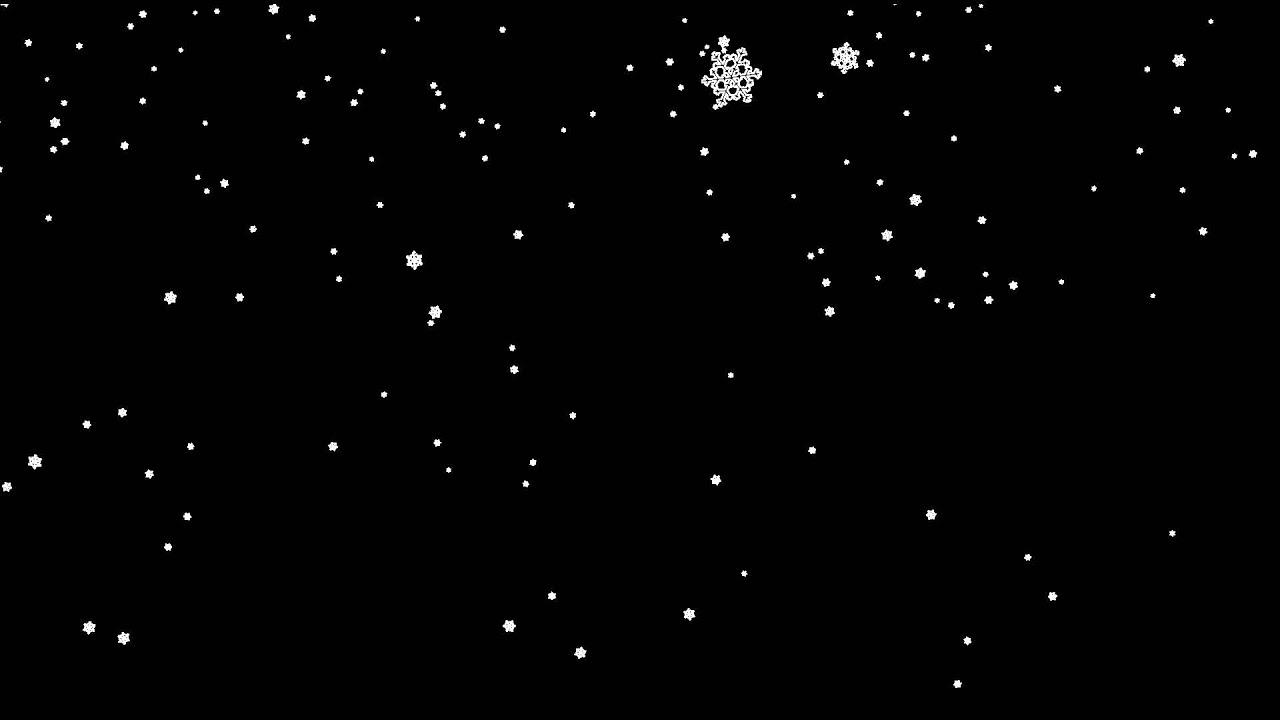 beautiful snowflakes falling alpha channel free hd