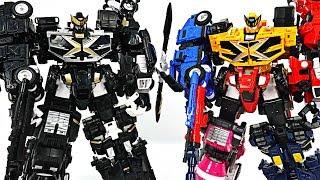 Miniforce X 5 combine Commando Pentatron black edition appeared! #DuDuPopTOY