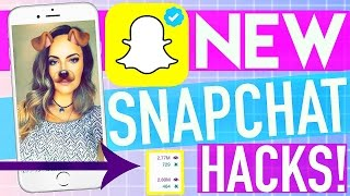 10 NEW Snapchat Hacks That ACTUALLY Work!