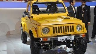 Delhi Auto Expo 2014 | Maruti Gypsy Escapade Showcased !