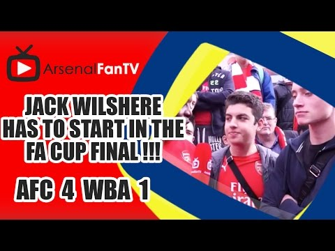 Jack Wilshere Has To Start In The FA Cup Final !!!  | Arsenal 4 West Brom 1