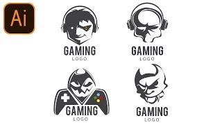 FREE Gaming Logo Pack #1| Clan/Esport/Mascot | Adobe Illustrator Free Logo Templates