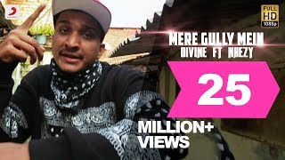Mere Gully Mein Divine Feat Naezy Official Music Audio With Subtitles