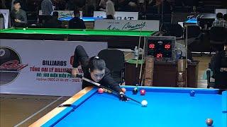 Final Pool 9 Ball Vietnam Championship. Bùi Xuân Vàng - Vương Thị Thu Bình.