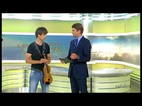 Alexander Rybak Interview in Labas rytas 2014