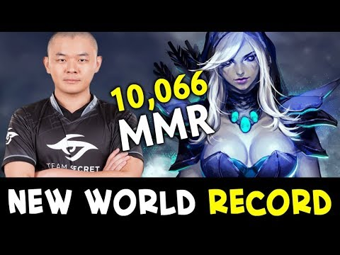 10066 Highest MMR in Dota history — Absolute World Record by MidOne