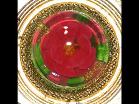 Gelatina artistica: Rosa en técnica de jeringa