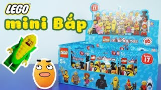 Lego Minifigures Series 17, Mini Bắp và Bé Tên Lửa siêu dễ thương - ToyStation 59