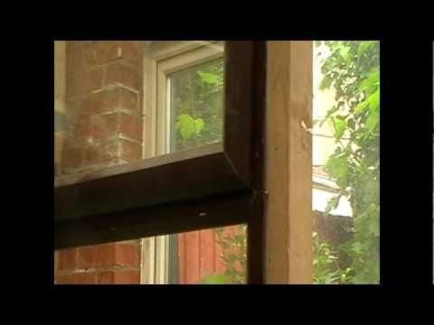 How to remove paint from upvc windows