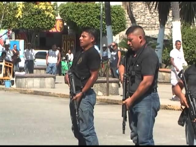 Simulacro Seguridad Municipal Tamazunchale