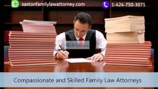 [Saxton Family Law Attorney | 1-424-750-3071] Video