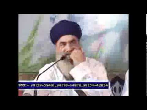 Sant Baba Gurdial Singh Ji Tande Wale 19sep11 video