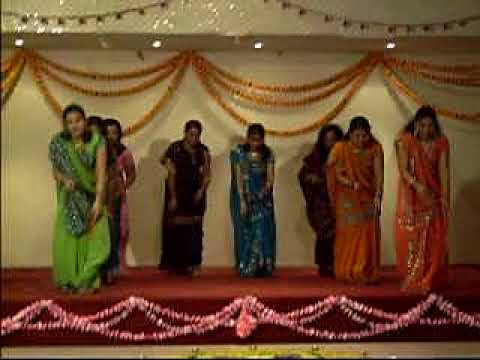 Dandiya dance performed by Dakar Indian Womens Association