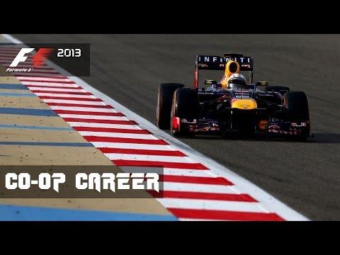 F1 2013 CO-OP Career - Round 4 Bahrain Grand Prix (Sakhir)