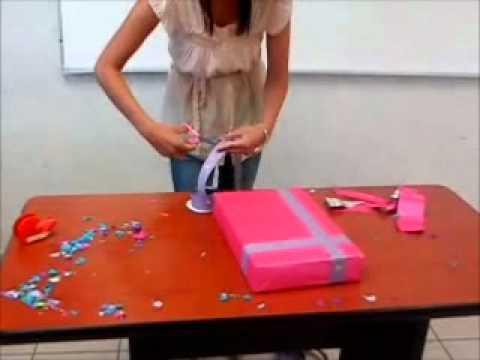 Envoltura de regalo youtube - Envoltorios originales para regalos ...