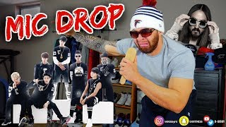 Download Lagu BTS (방탄소년단) 'MIC Drop (Steve Aoki Remix)' Official MV **REACTION** Gratis STAFABAND