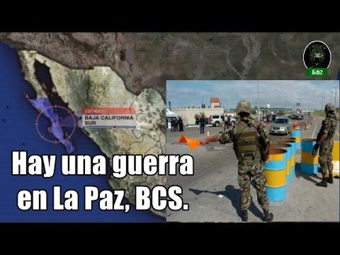 Saldo de guerra en La Paz, BCS. Tres grupos se disputan el estado.