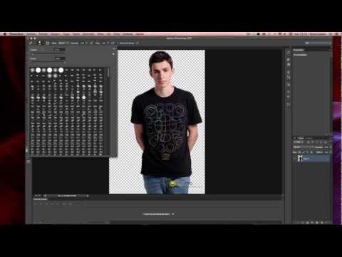 10 - [PHOTOSHOP] - Eliminar rápidamente el fondo blanco de una imagen con Photoshop CS6 | TutoKevMac