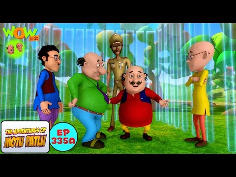 Invisible Cage - Motu Patlu in Hindi - 3D Animation Cartoon - As on Nickelodeon thumbnail