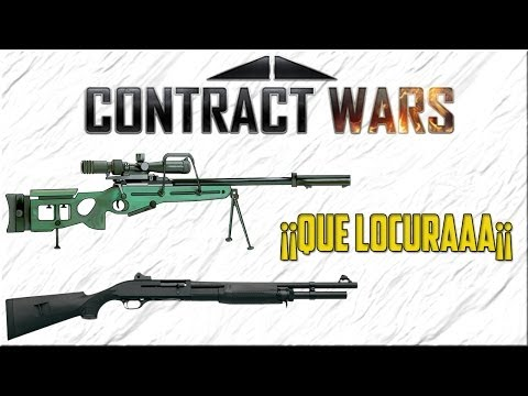 CONTRACT WARS ¡¡LOCURA¡¡ SNIPER Y ESCOPETA en Station