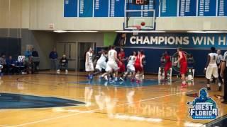 1/5 UWF Men's Basketball Highlights vs. Christian Brothers
