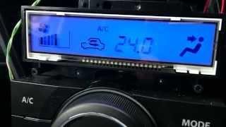 ハスラー エアコン液晶 バックライトLED変更