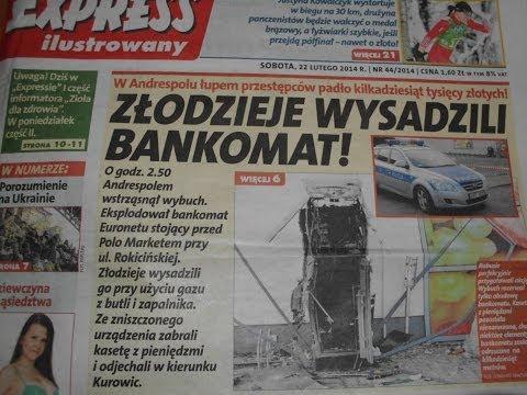 2014.02.22 Kolejny sukces redakcji-Wysadzili bankomat