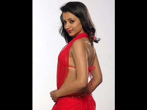 Trisha Hot In Red Dress video