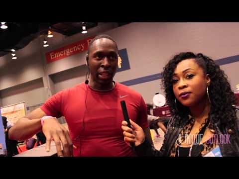 Kim Whitley interviewed by Unique Outlook at the Black Women's Expo 2014