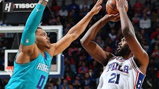 Charlotte Hornets vs Philadelphia 76ers - Full Highlights | November 10, 2019 | 2019-20 NBA Season