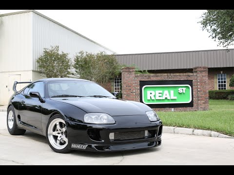 TRC's 1000+HP Supra built by Real Street Performance
