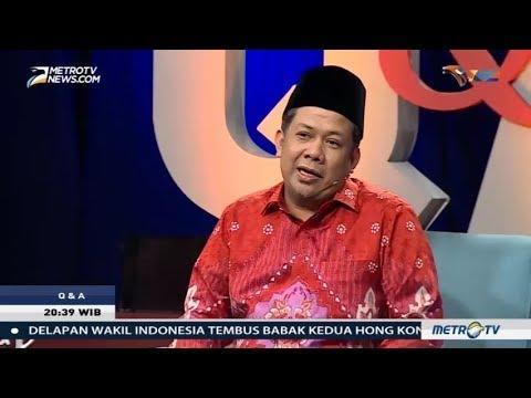 Q & A - Fahri Hamzah Bantah Bela Setnov di Kasus KTP-el