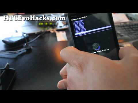 How to Install ROM on HTC Evo 3D!