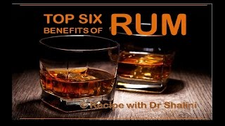 6 BENEFITS OF RUM | WEIGHT LOSS | HAIR FALL | SKIN INFECTION | SPOTLESS GLOWING SKIN