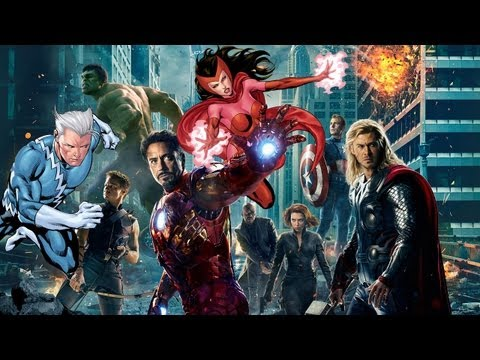 Quicksilver & Scarlet Witch Confirmed For 'The Avengers 2'