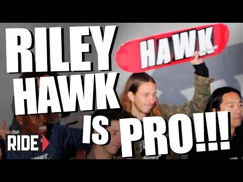 RILEY HAWK is PRO!!!