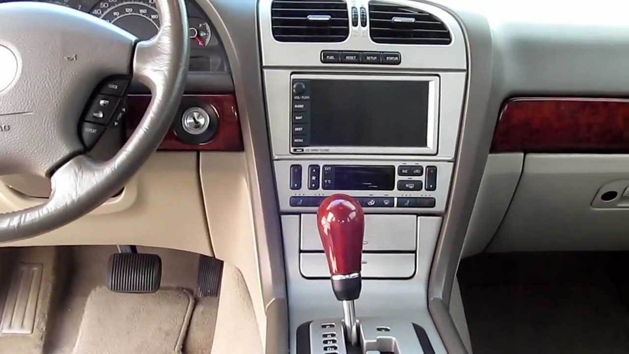Lincoln Ls V8 Overview Youtube