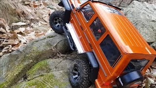 RC CAR  MST CFX-W Benz G-Class Bargain Rock Crawling 5