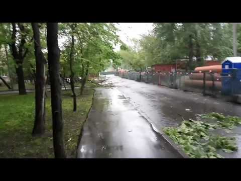 Конец урагана. Москва.