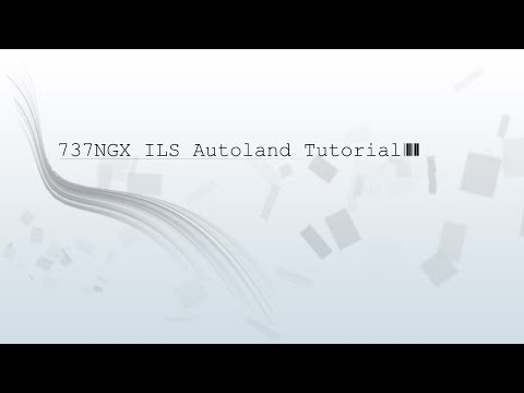 PMDG 737 NGX FULL ILS AUTOLAND TUTORIAL GERMAN HD