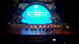 Hội thi họa mi vàng tỉnh Quảng Ninh 2019 Trường THCS Phương Đông
