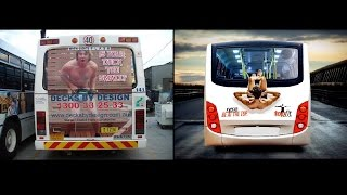 Most Funny and Creative Bus Ads ever seen