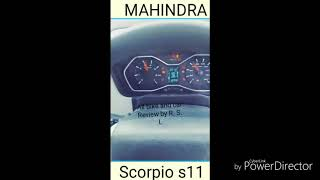 MAHINDRA Scorpio voice message system, All bike and car Review by R. S. L.