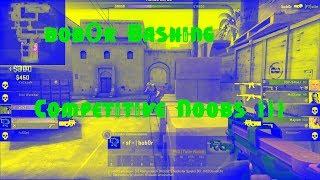 CS GO Fragmovie bob0r Bashing Competitive Noobs #03
