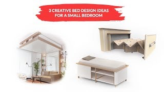 3 Bed Designs for Small Bedroom
