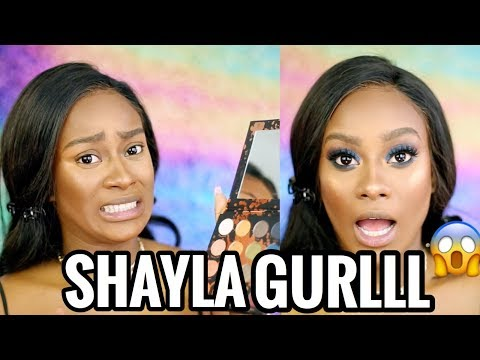 HONEST REVIEW: SHAYLA X COLOURPOP COLLECTION & TUTORIAL